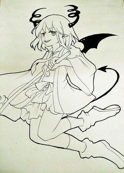 Tags: Anime, Pixiv Id 15627016, Obsolete Dream, Hanten (Obsolete Dream), Fanart From Pixiv, Pixiv, Fanart