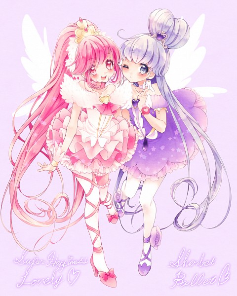 Tags: Anime, Uduki Shi, HappinessCharge Precure!, Aino Megumi, Super Happiness Lovely, Cure Princess, Shirayuki Hime, Ballerina Outfit, Ballet, Pixiv, Sherbet Ballet, Fanart From Pixiv, Fanart