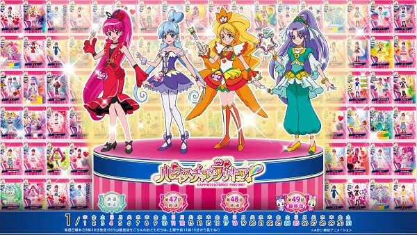 Tags: Anime, Satou Masayuki, HappinessCharge Precure!, Fresh Precure!, Dokidoki! Precure, Cure Peach, Cure Lovely, Shirayuki Hime, Momozono Love, Aida Mana, Aino Megumi, Cure Heart, Cure Fortune