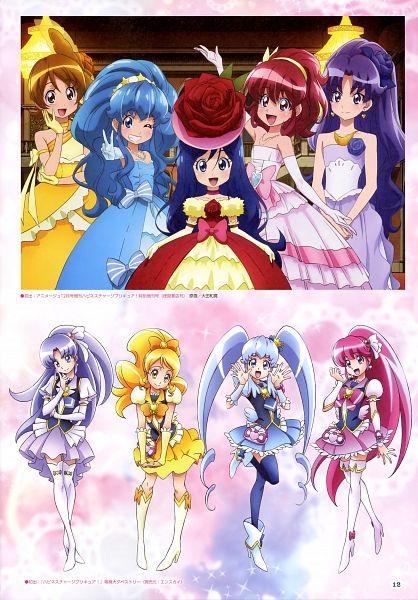 Tags: Anime, Satou Masayuki, Toei Animation, HappinessCharge Precure!, Cure Princess, Oumori Yuuko, Cure Lovely, Orihara Tsumugi, Shirayuki Hime, Cure Honey, Hikawa Iona, Aino Megumi, Cure Fortune