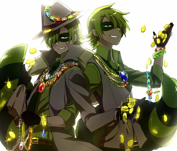 Tags: Anime, Onuko (Pixiv1861313), Happy Tree Friends, Lifty, Shifty, Gold (Metal), Domino Mask, Backlight, Money, Fanart From Pixiv, Pixiv, Fanart