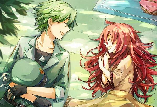 Tags: Anime, Pixiv Id 2300500, Happy Tree Friends, Flaky, Flippy, Pixiv, Fanart From Pixiv, Fanart