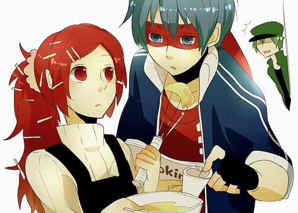 Tags: Anime, Kiri / 桐, Happy Tree Friends, Flippy, Flaky, Splendid (HTF), Jealousy