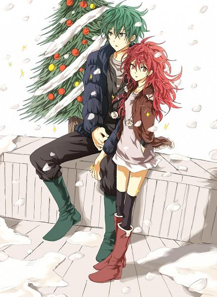 Tags: Anime, Yuki (Pixiv3125265), Happy Tree Friends, Flippy, Flaky, Fanart