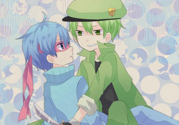 Tags: Anime, Happy Tree Friends, Flippy, Splendid (HTF), Artist Request