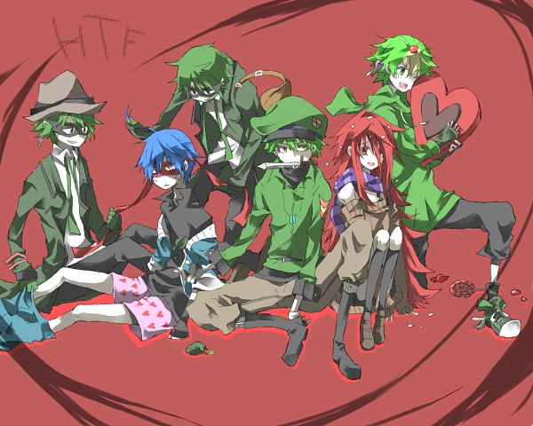 Tags: Anime, Tsuda, Happy Tree Friends, Shifty, Splendid (HTF), Lifty, Nutty, Flippy, Flaky, Chocolate Box, Heart Boxers, Heart Box, Boxer Shorts