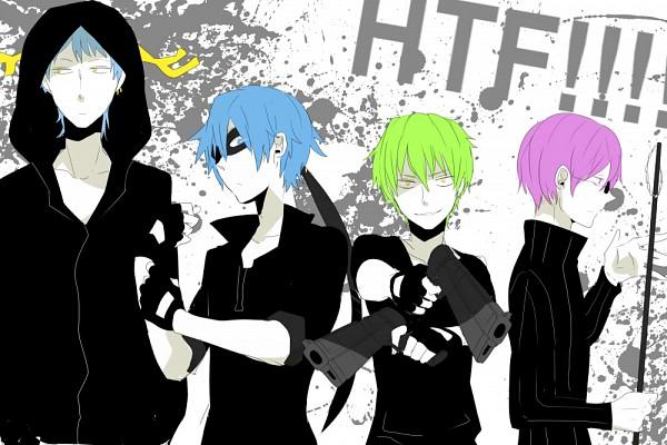 Tags: Anime, Al (Arupaka), Happy Tree Friends, Flippy, Splendid (HTF), The Mole (HTF), Lumpy
