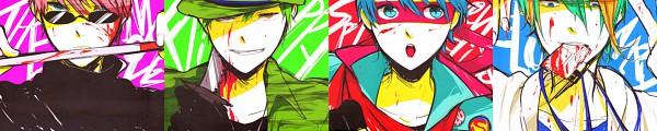 Tags: Anime, Happy Tree Friends, The Mole (HTF), Lumpy, Flippy, Splendid (HTF)
