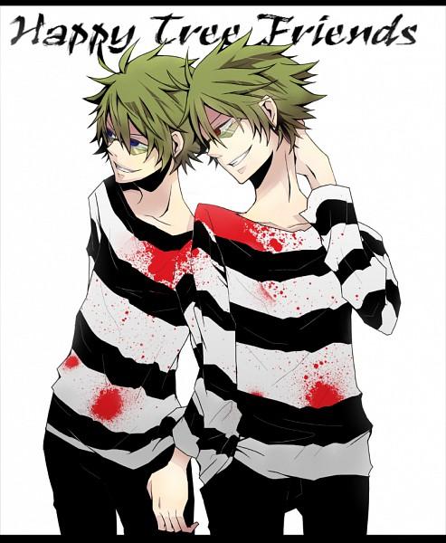 Tags: Anime, Pixiv Id 2806478, Happy Tree Friends, Shifty, Lifty, Prisoner, Pixiv, Fanart From Pixiv, Fanart