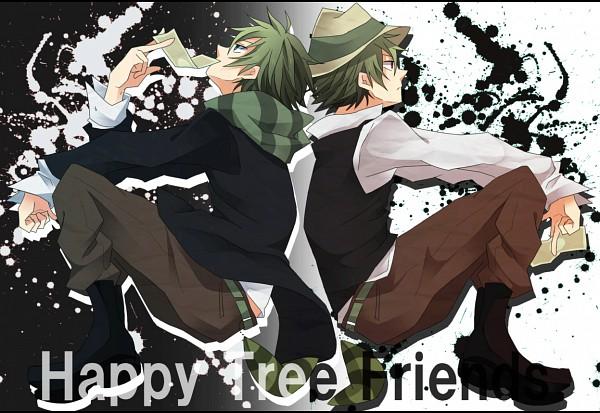 Tags: Anime, Pixiv Id 2806478, Happy Tree Friends, Shifty, Lifty, Pixiv, Fanart