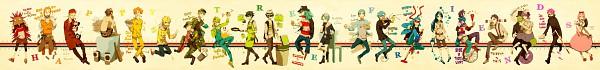 Tags: Anime, Happy Tree Friends, Flippy, Disco Bear, Splendid (HTF), Nutty, Mr. Pickles, Russell, Shifty, Mime (HTF), Petunia (HTF), Lammy, Toothy (HTF)