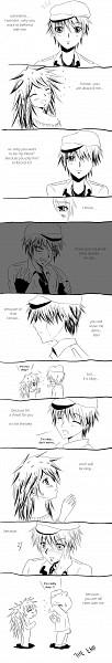 Tags: Anime, Happy Tree Friends, Flaky, Flippy, deviantART, Artist Request, Comic