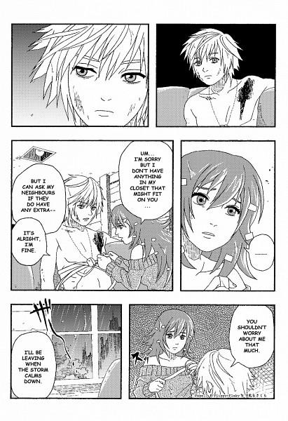 Tags: Anime, Hikarra, Happy Tree Friends, Flaky, Flippy, Mobile Wallpaper, Comic