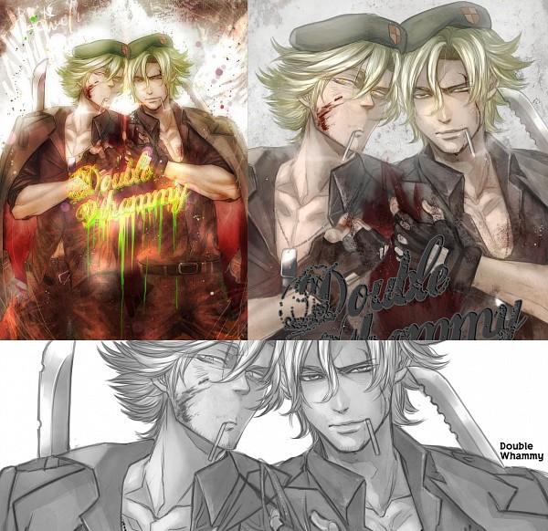 Tags: Anime, KAB00M CHUCK, Happy Tree Friends, Flippy