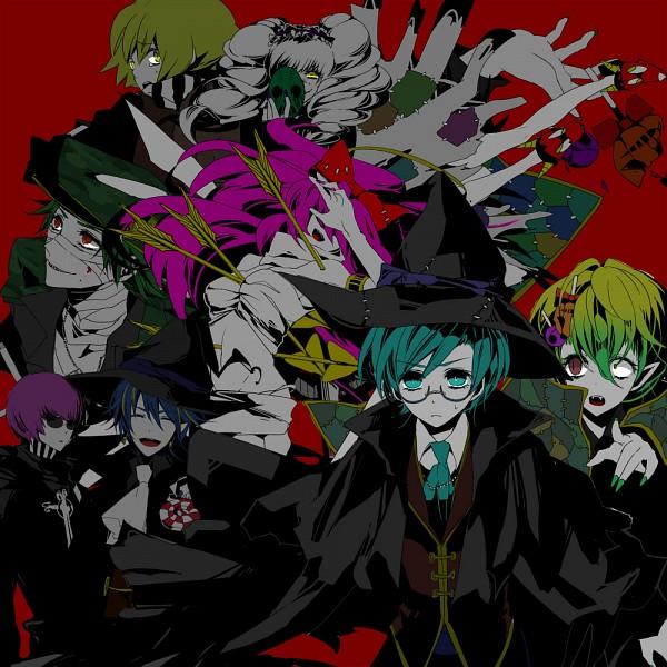Tags: Anime, Chino Machico, Happy Tree Friends, Lumpy, The Mole (HTF), Cuddles (HTF), Flippy, Giggles (HTF), Lammy, Sniffles (HTF), Nutty, Flaky, Vampire Costume