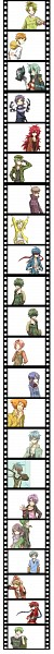 Tags: Anime, *Mihaya, Happy Tree Friends, Cro-Marmot, Cuddles (HTF), Pop (HTF), Flaky, Handy, Splendont, Giggles (HTF), Flippy, Disco Bear, Splendid (HTF)