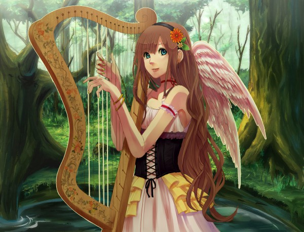 Harp - Musical Instrument