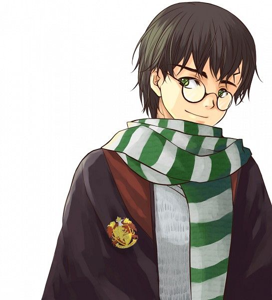 Tags: Anime, Sojiron, Harry Potter, Harry Potter (Character), V-neck, Emblem, Fanart, Fanart From DeviantART, deviantART, Gryffindor House
