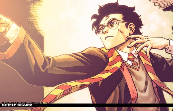 Tags: Anime, ReillyBrown, Harry Potter, Harry Potter (Character), deviantART, Gryffindor House