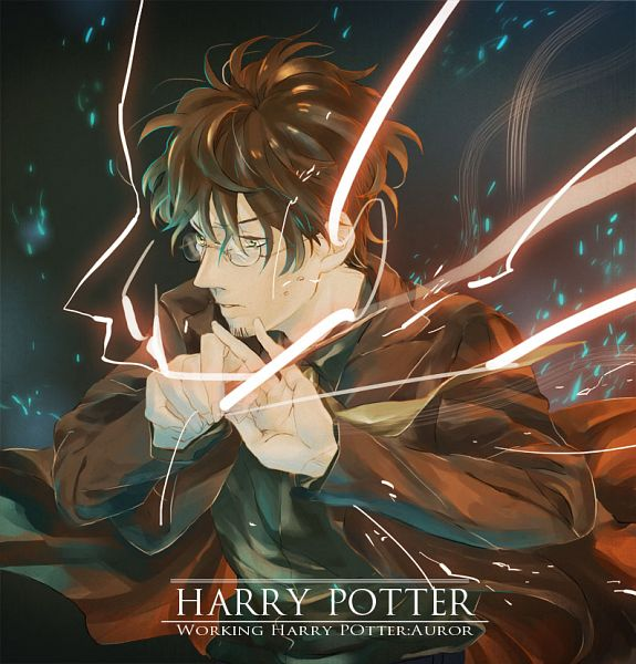 Tags: Anime, Kena, Harry Potter, Harry Potter (Character), Pixiv, Fanart