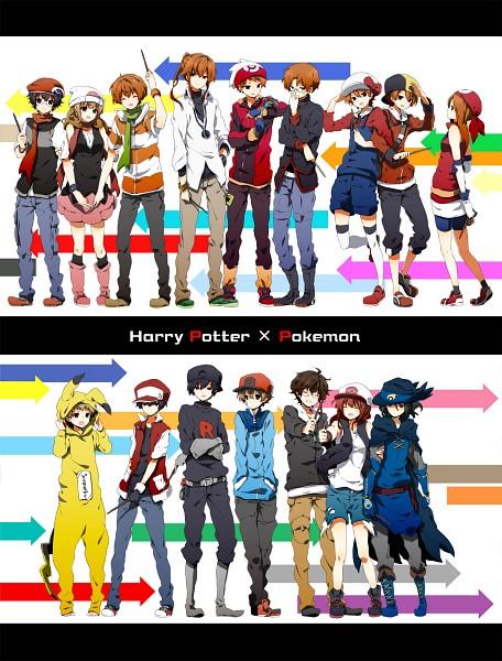 Tags: Anime, Sepia_harusame, Harry Potter, Remus Lupin, Ginny Weasley, Regulus Black, Sirius Black, Ron Weasley, Peter Pettigrew, Fred Weasley, Charlie Weasley, Lily Evans, George Weasley