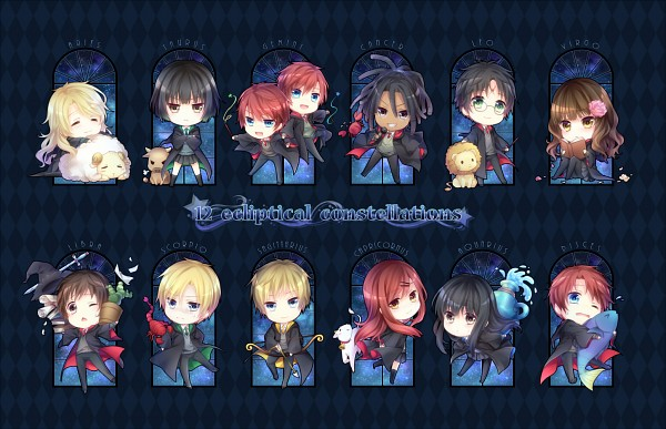 Tags: Anime, Yuuna Minato, Harry Potter, Ginny Weasley, Hermione Granger, Neville Longbottom, Ron Weasley, Fred Weasley, Draco Malfoy, George Weasley, Harry Potter (Character), Pansy Parkinson, Cho Chang