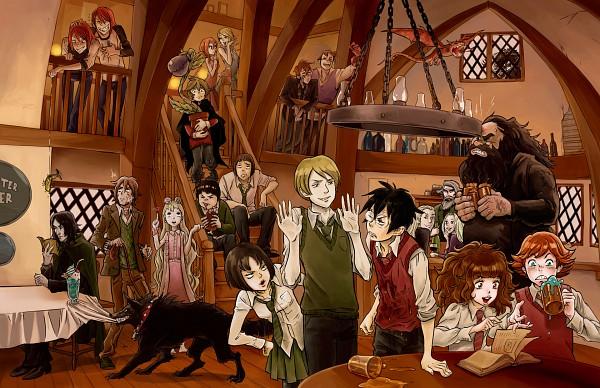 Tags: Anime, Maximovlorenzo, tsulala, Harry Potter, Draco Malfoy, Lucius Malfoy, George Weasley, Narcissa Malfoy, Harry Potter (Character), Remus Lupin, Severus Snape, Pansy Parkinson, Luna Lovegood