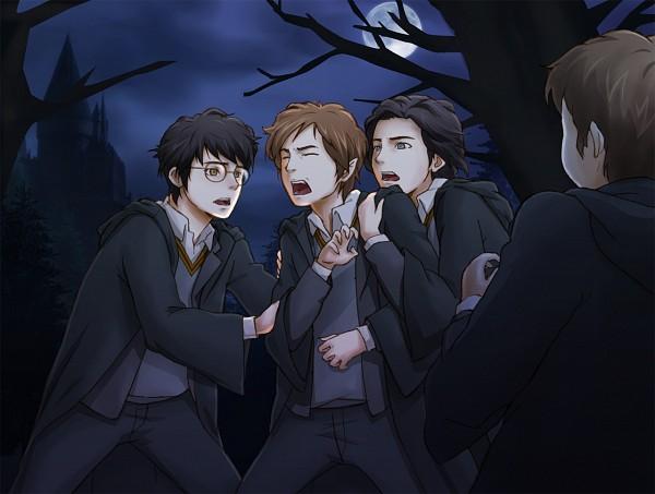 Tags: Anime, Harry Potter, James Potter, Remus Lupin, Sirius Black, Peter Pettigrew, Sharp Nails, Werewolf, Gryffindor House, Marauders