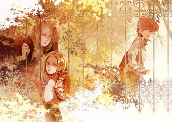 Tags: Anime, Pixiv Id 2935197, Harry Potter, Arthur Weasley, Lucius Malfoy, Garden, Malfoy Family