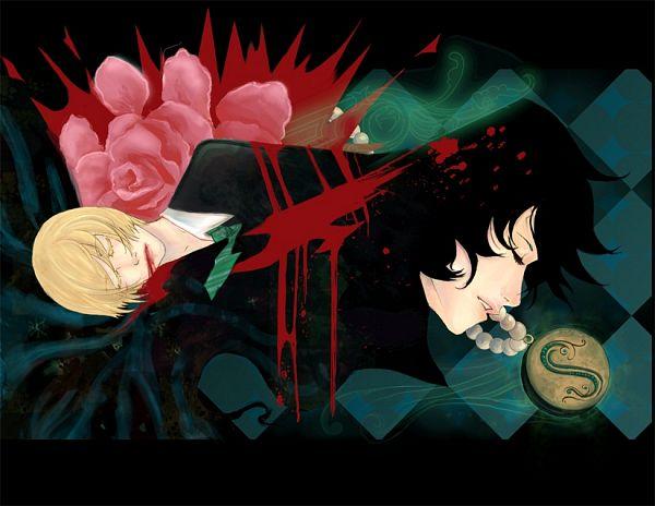Tags: Anime, Harry Potter, Severus Snape, Draco Malfoy, Slytherin House