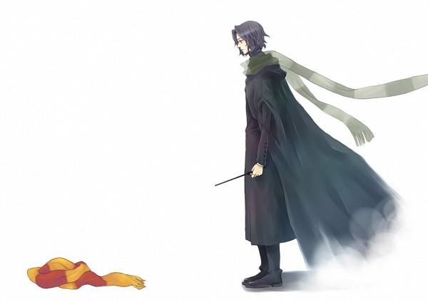 Tags: Anime, Pixiv Id 1331711, Harry Potter, Severus Snape, James Potter, Disappearing, Gryffindor House, Slytherin House
