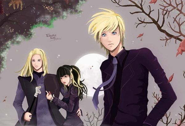 Tags: Anime, Harry Potter, Draco Malfoy, Narcissa Malfoy, Lucius Malfoy, Malfoy Family, Slytherin House