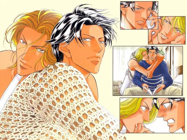Tags: Anime, Youka Nitta, Haru wo Daiteita, Youji Kato, Kyosuke Iwaki, Wallpaper