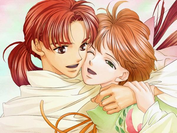 Tags: Anime, Koei, Harukanaru Toki no Naka de 2, Takakura Karin, Isato, Bindi, CG Art