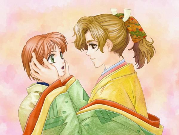 Tags: Anime, Koei, Harukanaru Toki no Naka de 2, Takakura Karin, Akifumi, CG Art