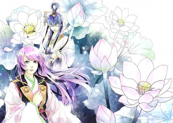 Tags: Anime, Saiga Tokihito, Harukanaru Toki no Naka de 3, Kasuga Nozomi, Pixiv, Fanart, Character Request, In A Distant Time 3