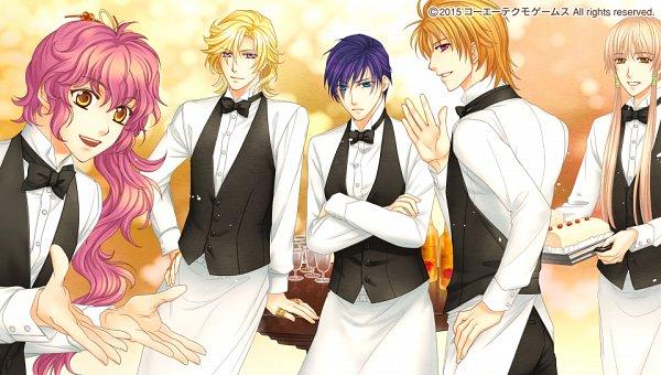 Tags: Anime, Mizuno Tohko, Tecmo Koei, Harukanaru Toki no Naka de 6, Hagio Kudan, Katagiri Shuhei, Kohaku (Harukanaru Toki no Naka de 6), Darius (Harukanaru Toki no Naka de 6), Arima Hajime, CG Art