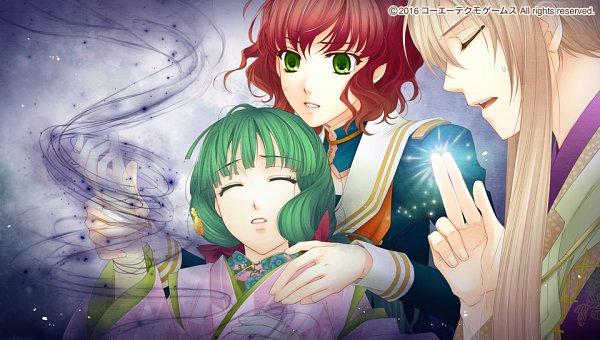 Tags: Anime, Mizuno Tohko, Tecmo Koei, Harukanaru Toki no Naka de 6, Komano Chiyo, Hagio Kudan, Takatsuka Azusa, CG Art