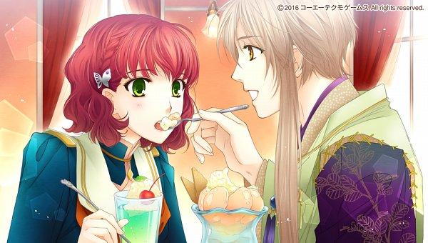 Tags: Anime, Mizuno Tohko, Tecmo Koei, Harukanaru Toki no Naka de 6, Hagio Kudan, Takatsuka Azusa, CG Art
