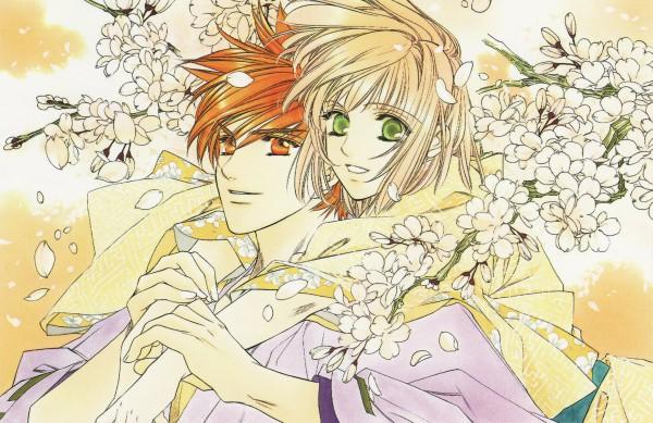 Tags: Anime, Mizuno Tohko, Harukanaru Toki no Naka de, Motomiya Akane, Official Art