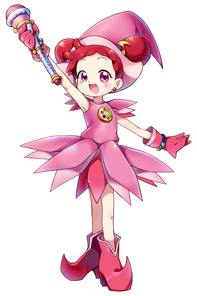 Tags: Anime, SONGMIL, Ojamajo DoReMi, Harukaze Doremi, Pink Handwear, Flower Skirt, Dream Spinner, Kururu Poron, Pink Gloves, Fanart From Pixiv, Fanart, Pixiv, Mobile Wallpaper