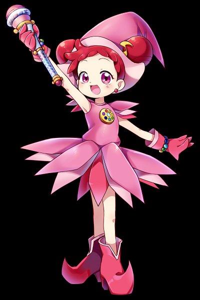 Tags: Anime, SONGMIL, Ojamajo DoReMi, Harukaze Doremi, Pink Gloves, Pink Handwear, Flower Skirt, Dream Spinner, Kururu Poron, Fanart From Pixiv, Fanart, Pixiv, Mobile Wallpaper
