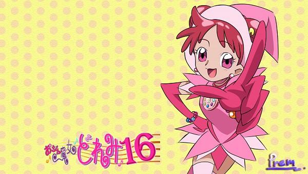 Tags: Anime, Prem, Umakoshi Yoshihiko, Ojamajo DoReMi 16, Ojamajo DoReMi, Harukaze Doremi, 1600x900 Wallpaper, Dream Spinner, Vector, Wallpaper