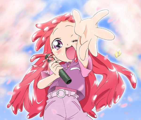 Tags: Anime, T-hiko, Ojamajo DoReMi, Harukaze Doremi, Diploma, Graduation, Fanart