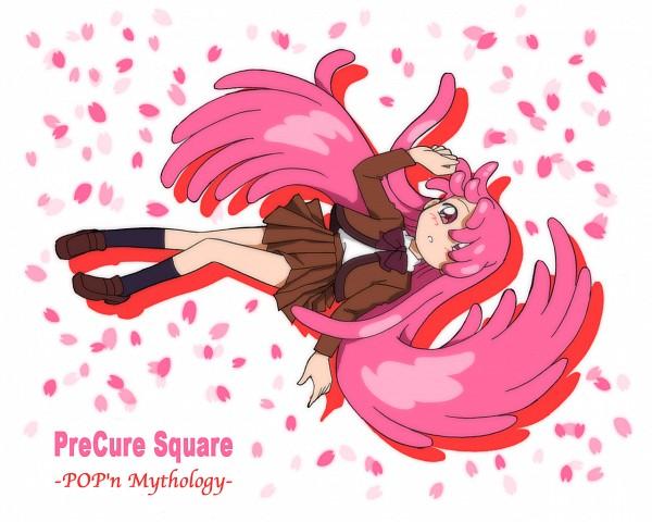 Tags: Anime, Furo no Oka, Ojamajo DoReMi, Pretty Cure Fan Series, Pretty Cure Square, Harukaze Pop, Fanart, Pixiv