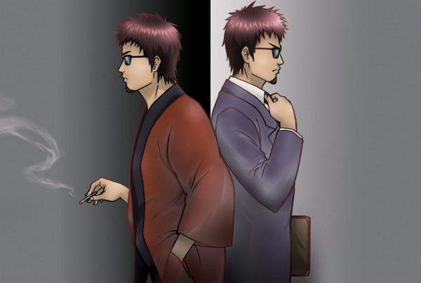 Tags: Anime, Gintama, Hasegawa Taizou, Official Art