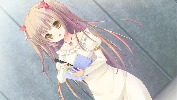 Tags: Anime, Parasol (Studio), Hare Nochi Kitto Nanohana Biyori, Hasumi Reona, Heart Necklace, Wallpaper, CG Art