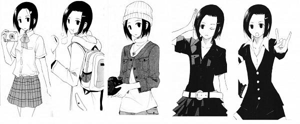 Tags: Anime, Seitokai Yakuindomo, Hata Ranko, Official Art, Scan