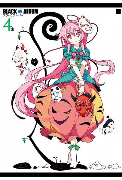 Tags: Anime, Ideolo, NEKO WORKi, BLACK♠ALBUM 4th, Touhou, Hata no Kokoro, PNG Conversion, Fanart, Revision, Pixiv, Fanart From Pixiv, Mobile Wallpaper