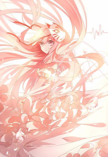 Tags: Anime, Pixiv Id 3012027, Touhou, Hata no Kokoro, Fanart From Pixiv, Pixiv, Mobile Wallpaper, Fanart